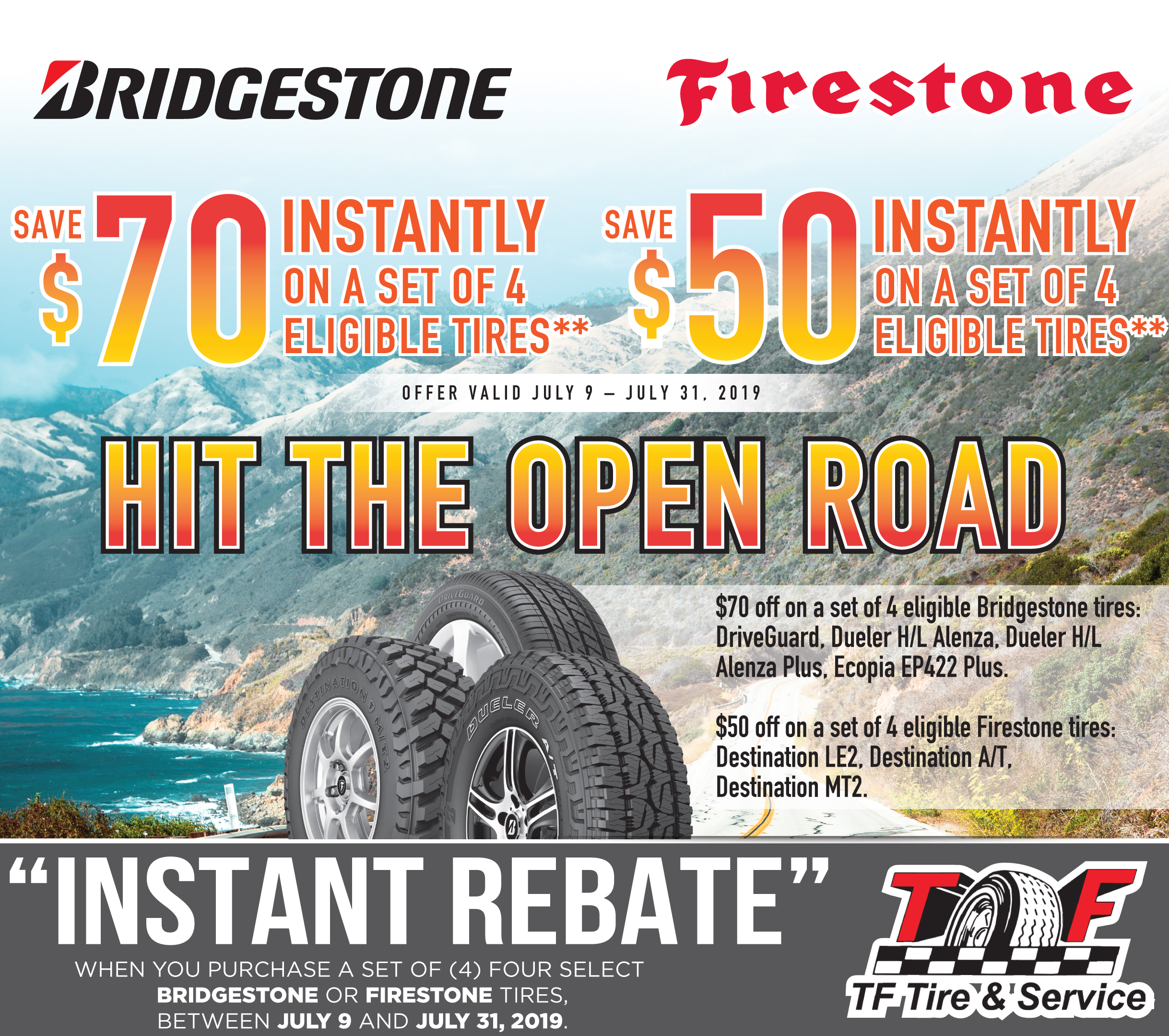 Firestone Tires Near Me >> Tf Tire Service Locations In California Tires Auto Repair